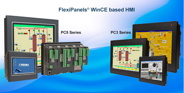Flexipanels® WinCE Based HMIs